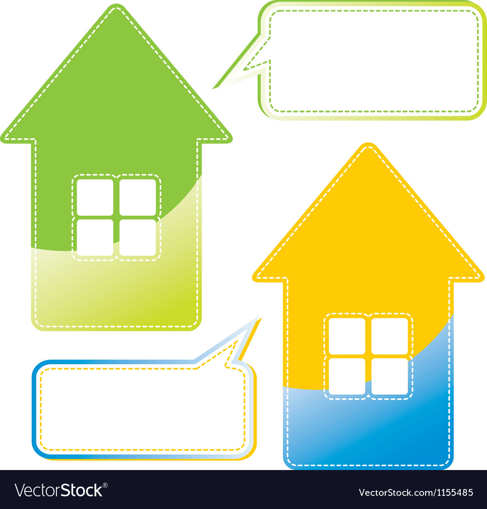 Message home vector | Price: 1 Credit (USD $1)