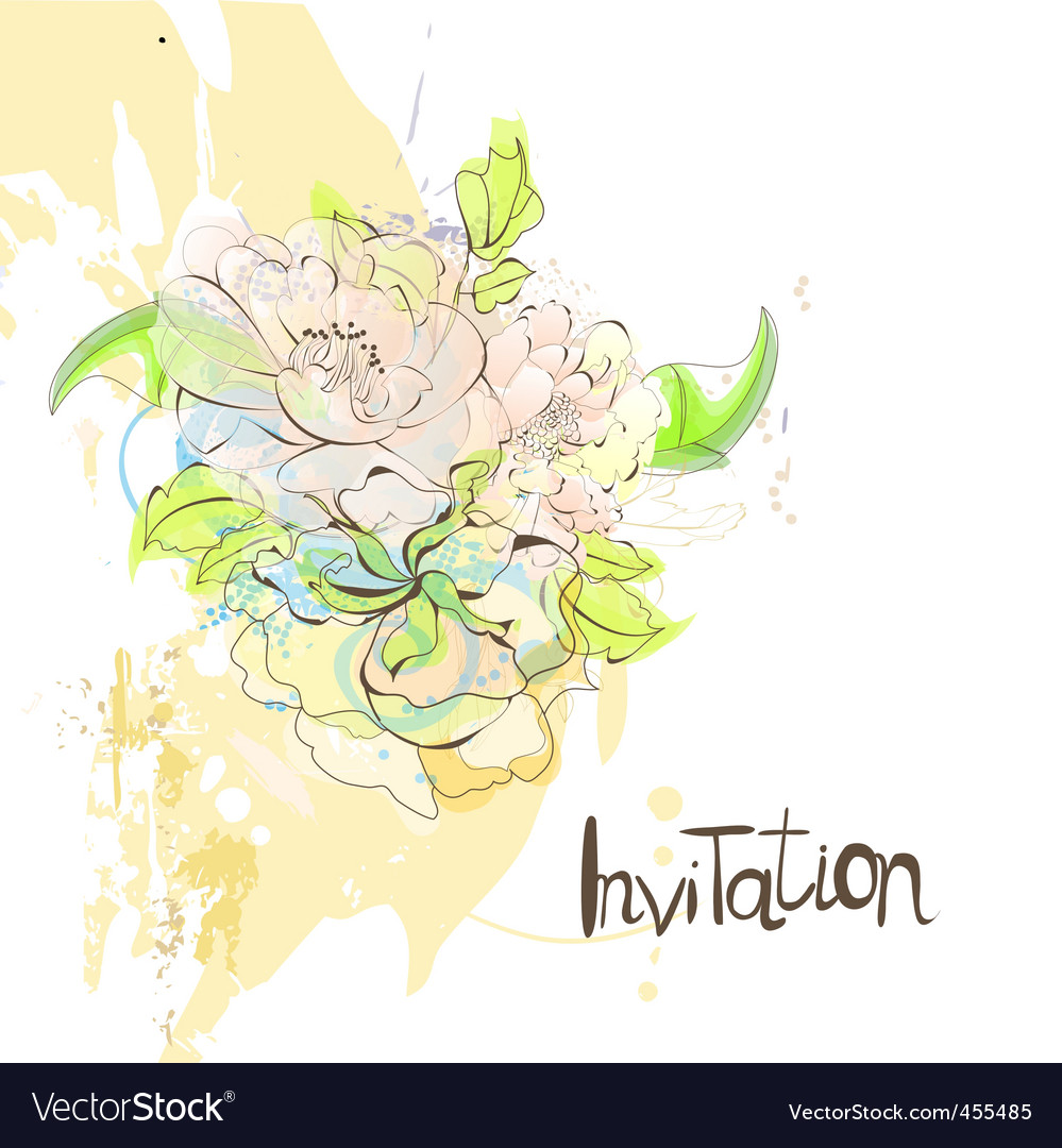 Template for invitation vector | Price: 1 Credit (USD $1)