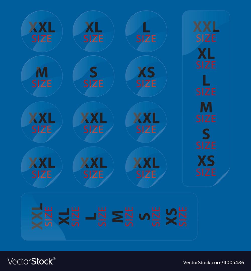Cloth stickers vector | Price: 1 Credit (USD $1)