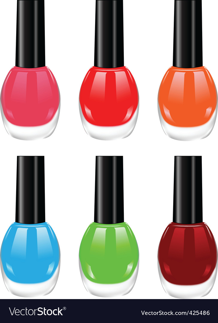 Nail polish vector | Price: 1 Credit (USD $1)