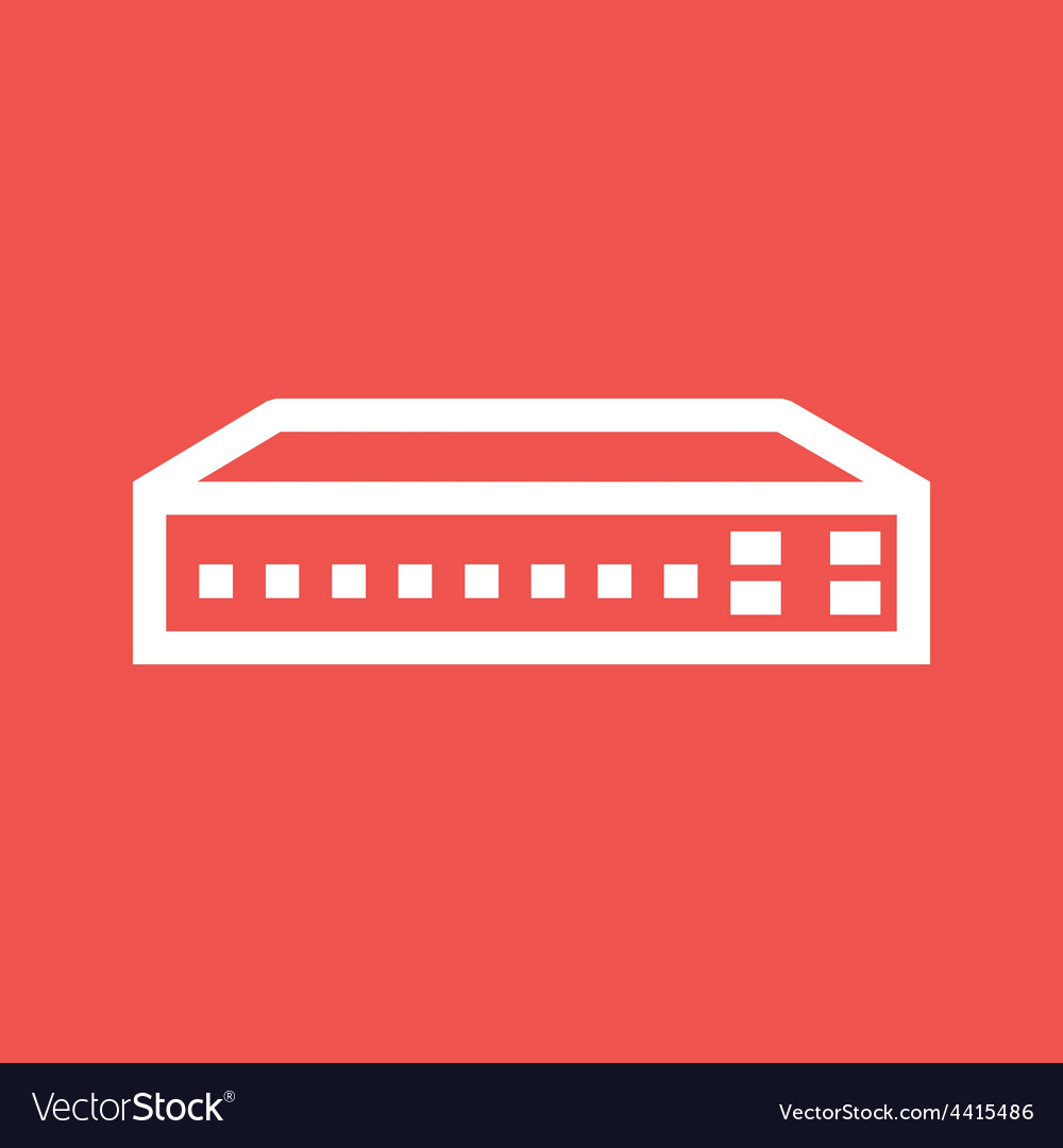 Networking switch vector | Price: 1 Credit (USD $1)
