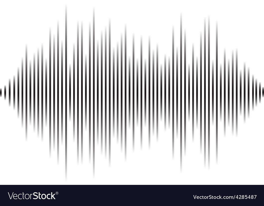 Modern equalizer background for music themes vector