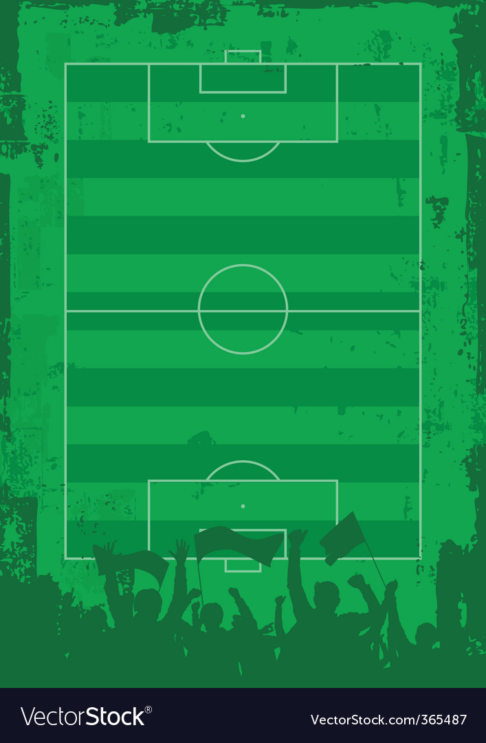 Soccer field vector | Price: 1 Credit (USD $1)