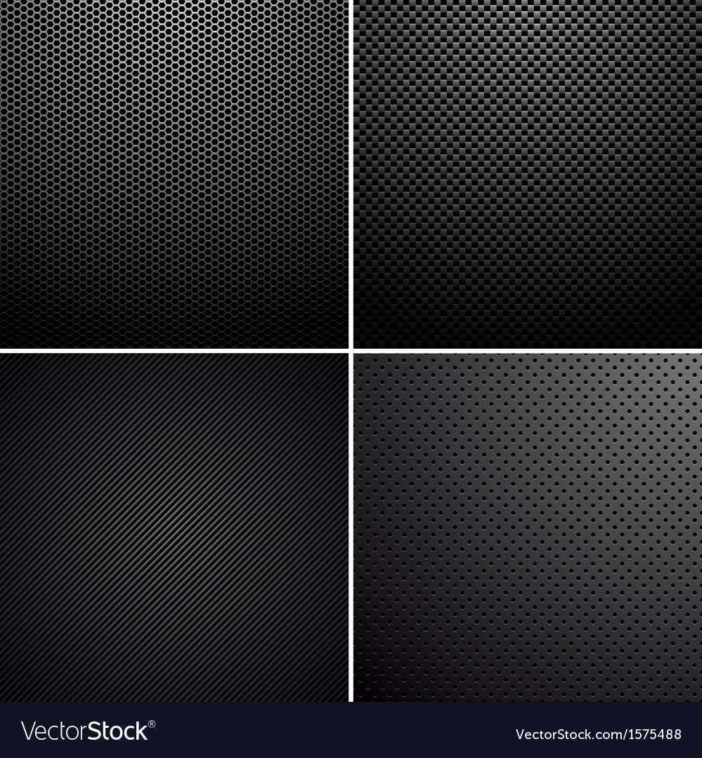 Metal-carbon textures vector | Price: 1 Credit (USD $1)