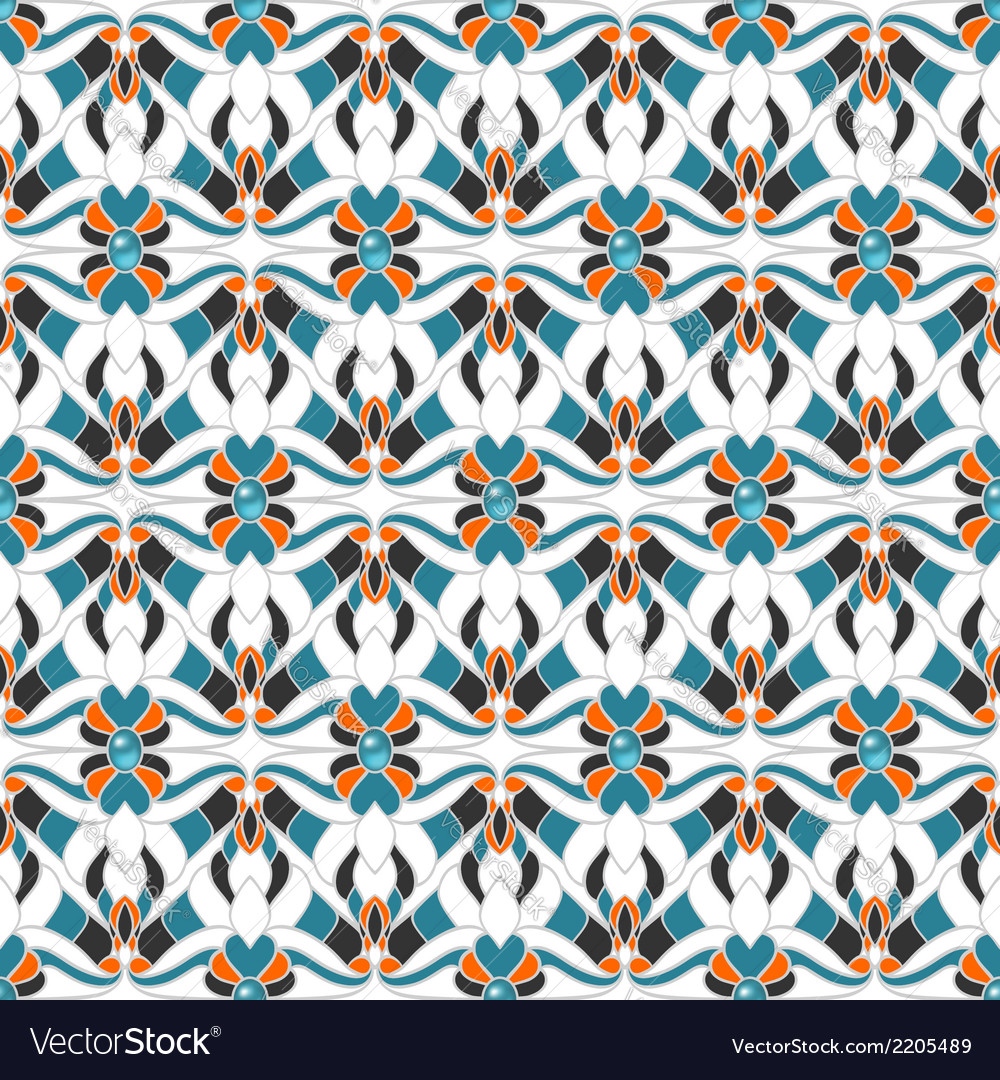 Abstract multicolored seamless pattern vector   Price: 1 Credit (USD $1)