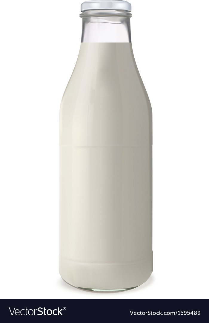 Bottle of milk1 vector | Price: 1 Credit (USD $1)
