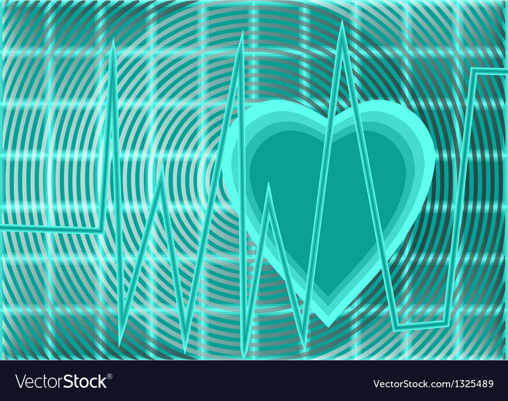 Heartbeat pulse vector | Price: 1 Credit (USD $1)