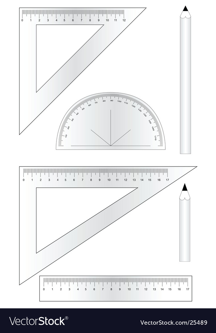 Mathematical equipment vector | Price: 1 Credit (USD $1)