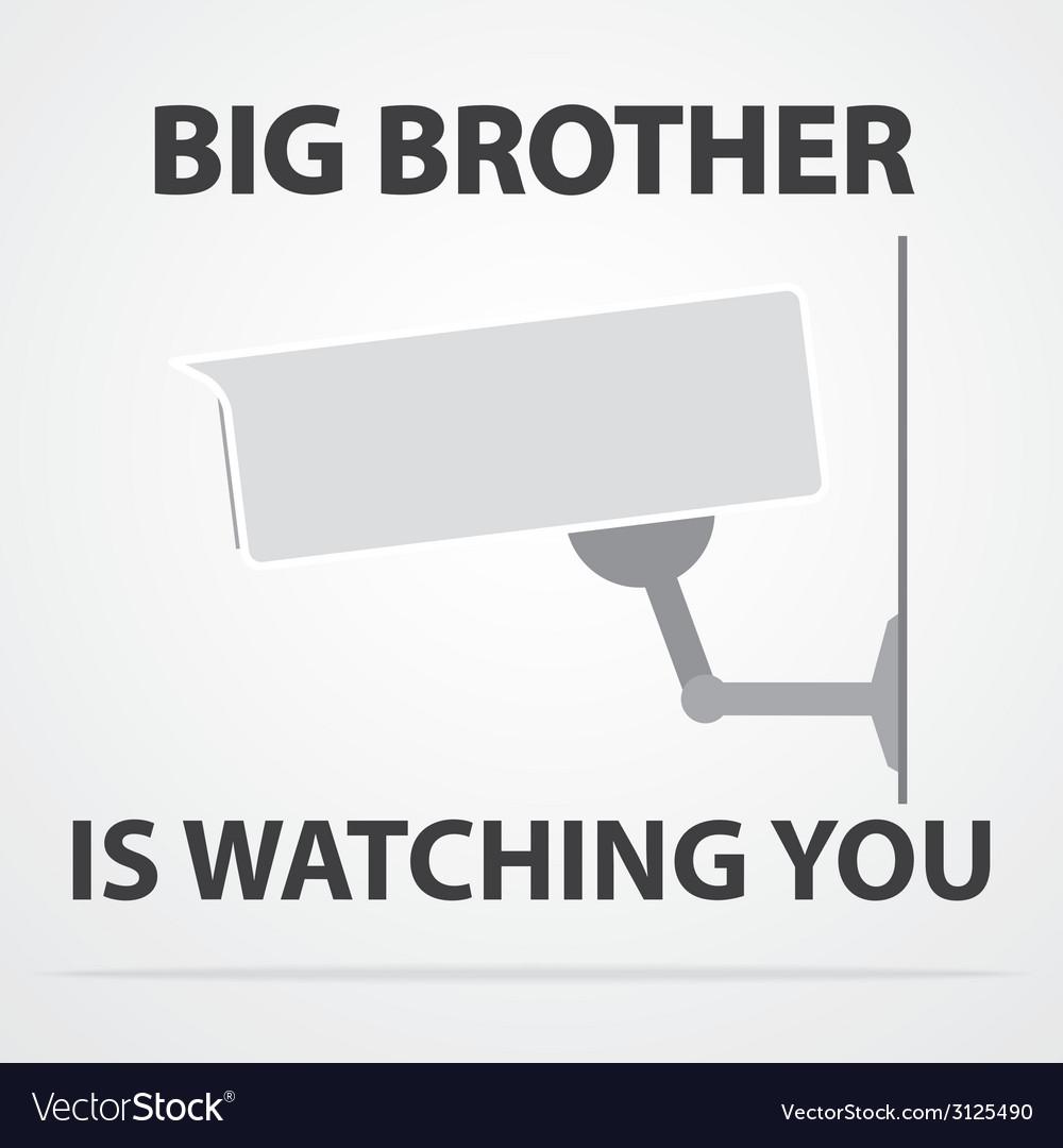 Big brother vector | Price: 1 Credit (USD $1)