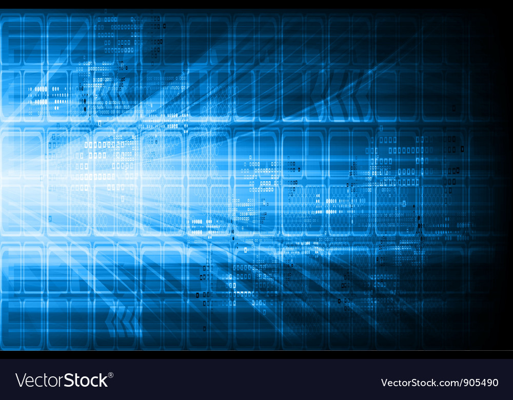 Blue technical design vector | Price: 1 Credit (USD $1)