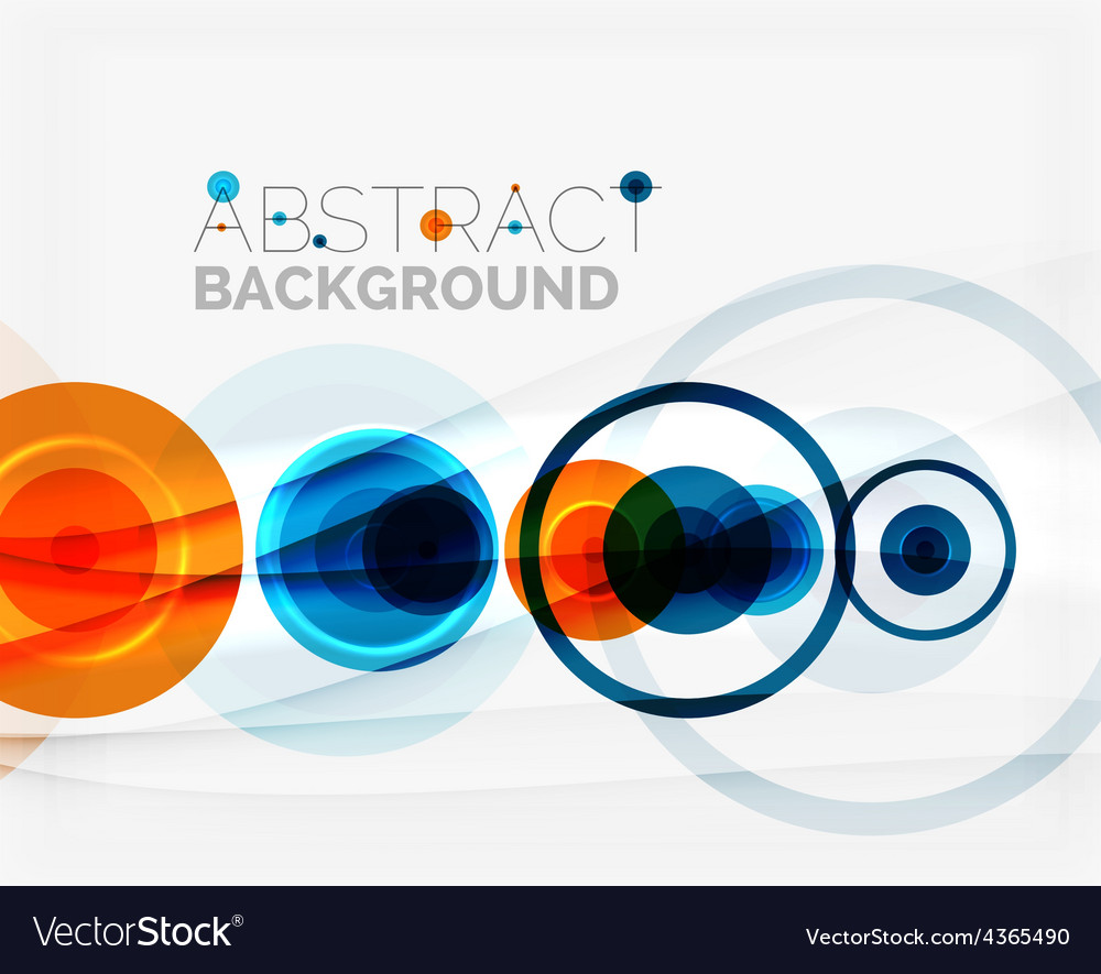 Circle geometric shape composition vector   Price: 1 Credit (USD $1)