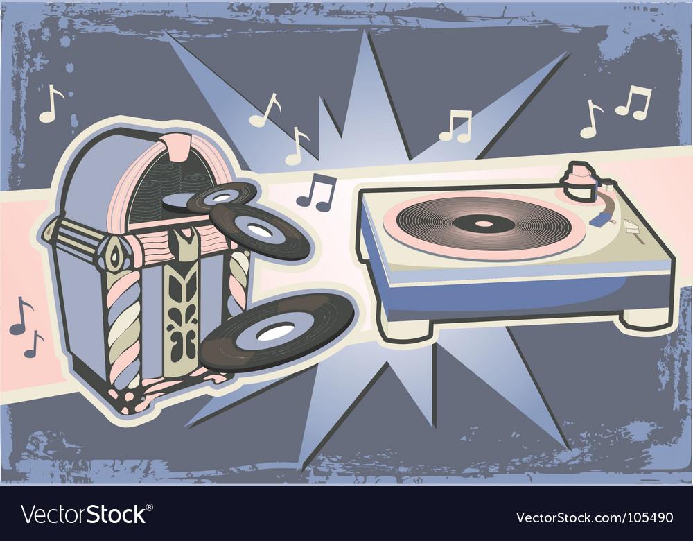 Gramophone graphic vector   Price: 1 Credit (USD $1)