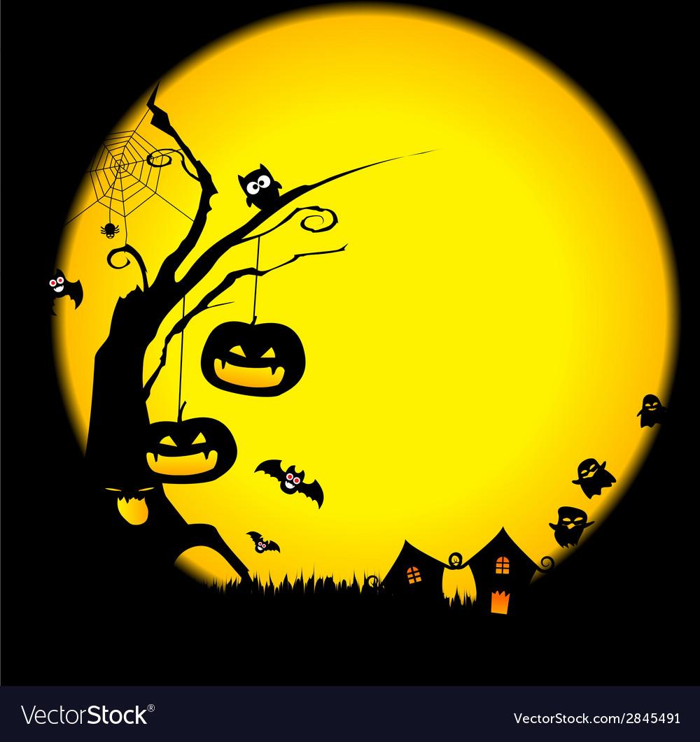 Halloween 2014 background 002 vector | Price: 1 Credit (USD $1)