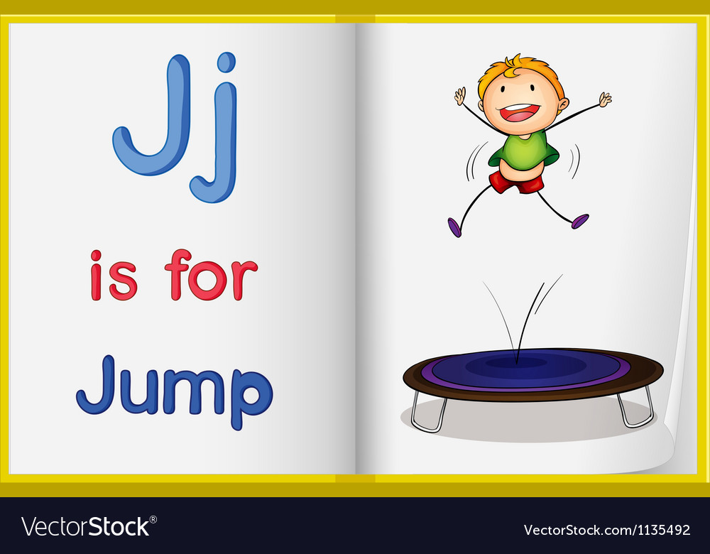 Jumping kid vector | Price: 1 Credit (USD $1)