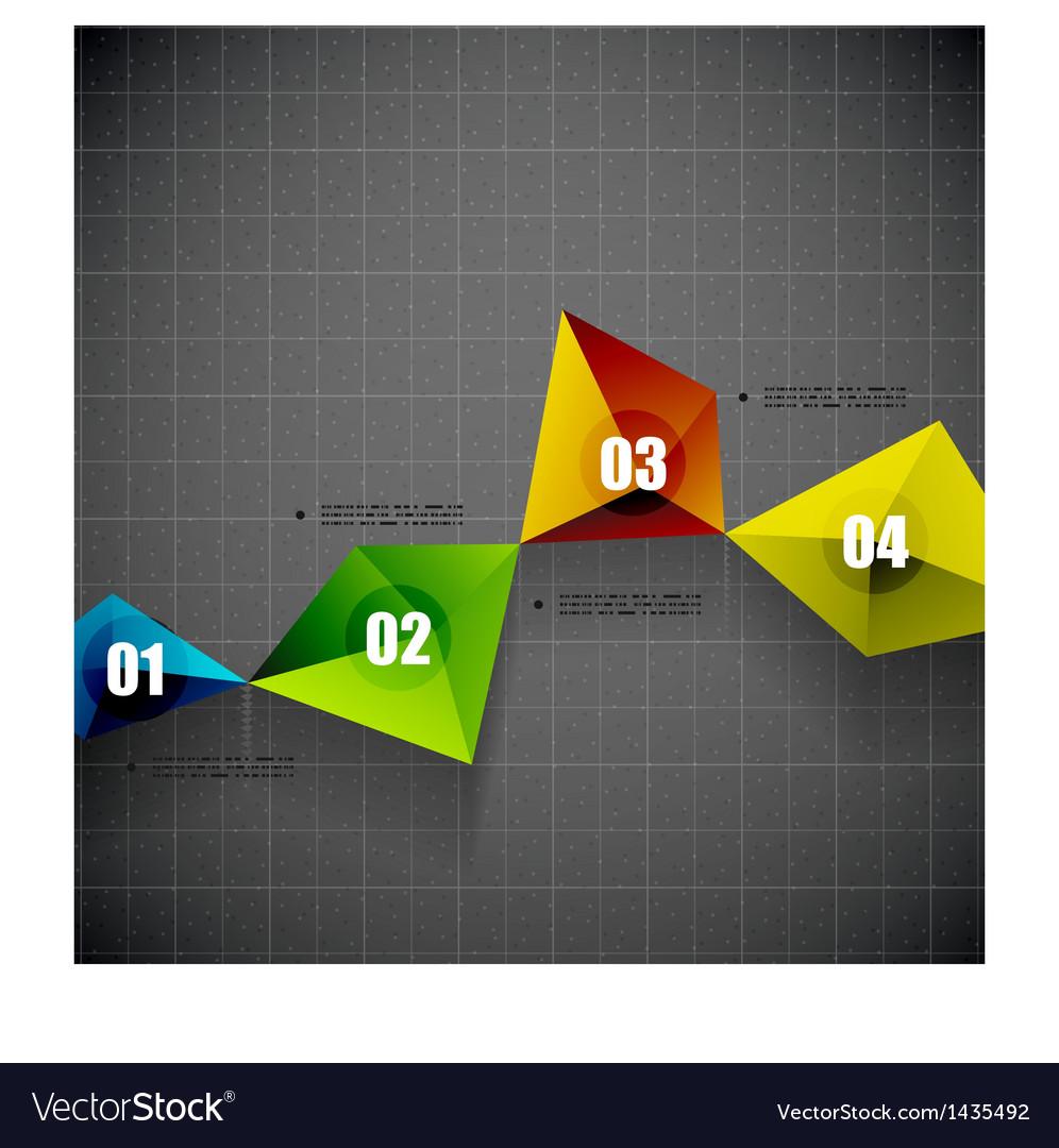 Modern geometrical shape template vector   Price: 1 Credit (USD $1)