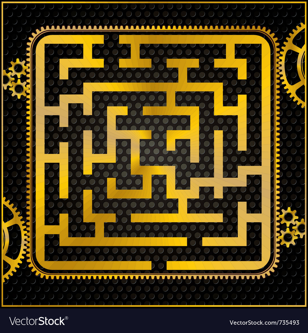 Maze or labyrinth vector | Price: 1 Credit (USD $1)