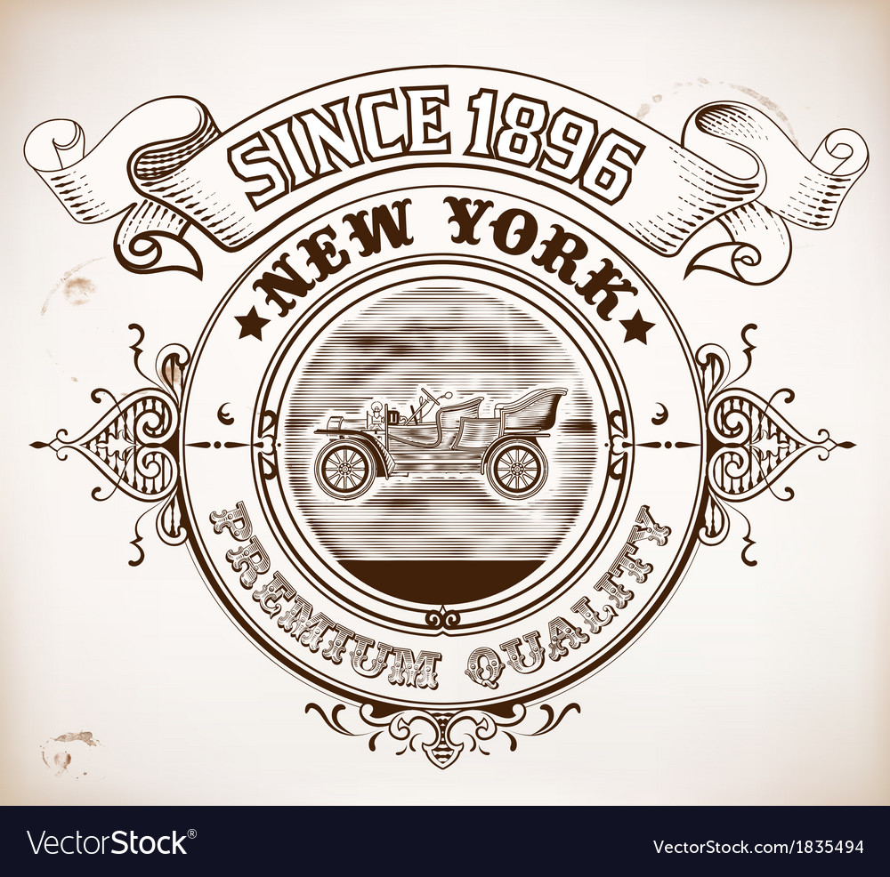 Retro design vector | Price: 1 Credit (USD $1)