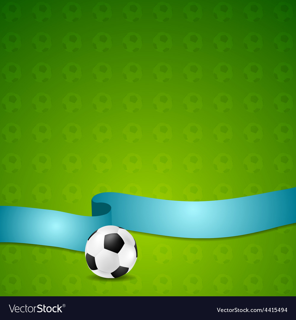 Soccer football background vector   Price: 1 Credit (USD $1)