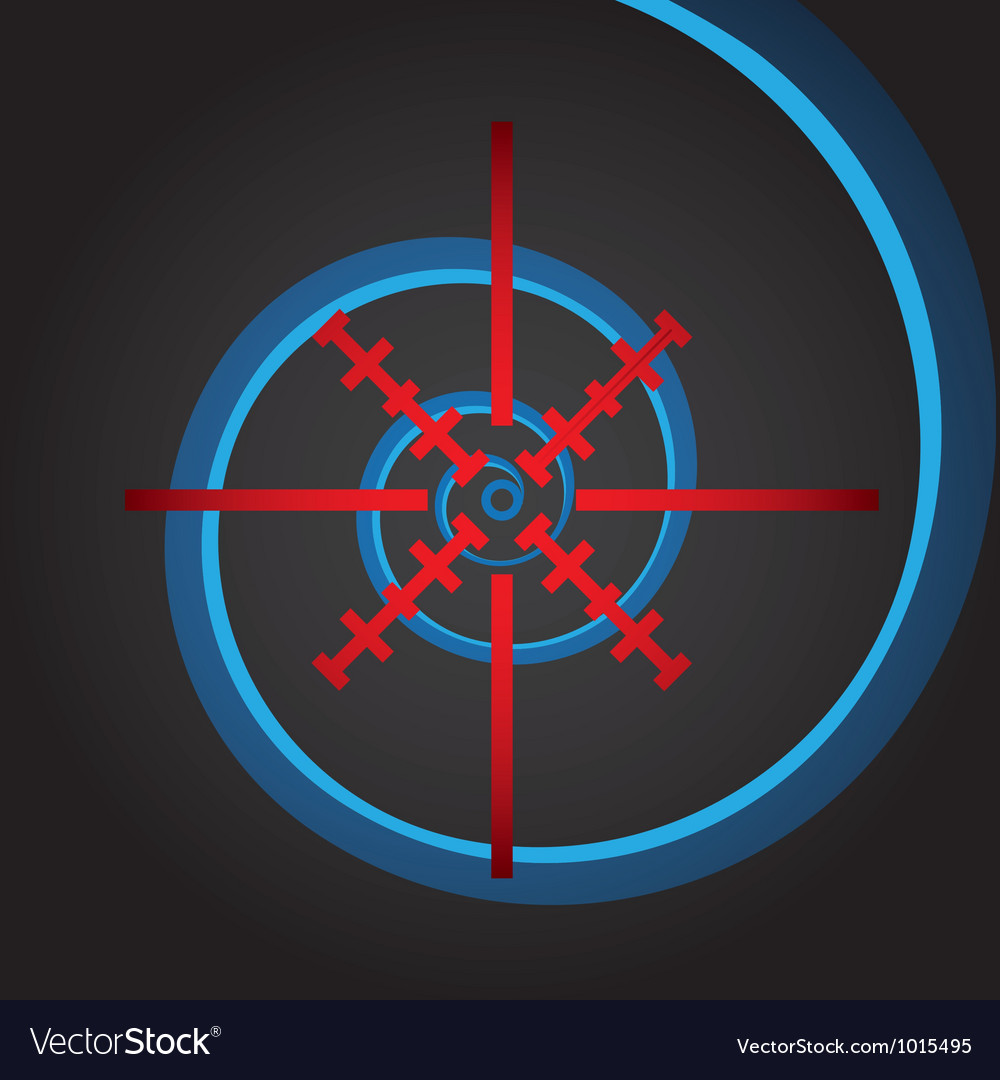 Crosshair vector | Price: 1 Credit (USD $1)