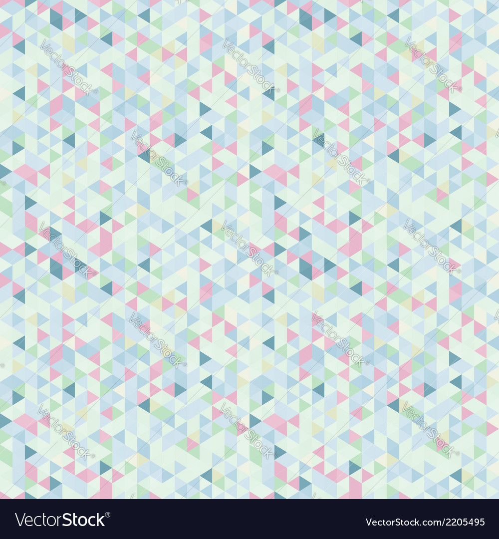 Light seamless pattern of triangles vector | Price: 1 Credit (USD $1)