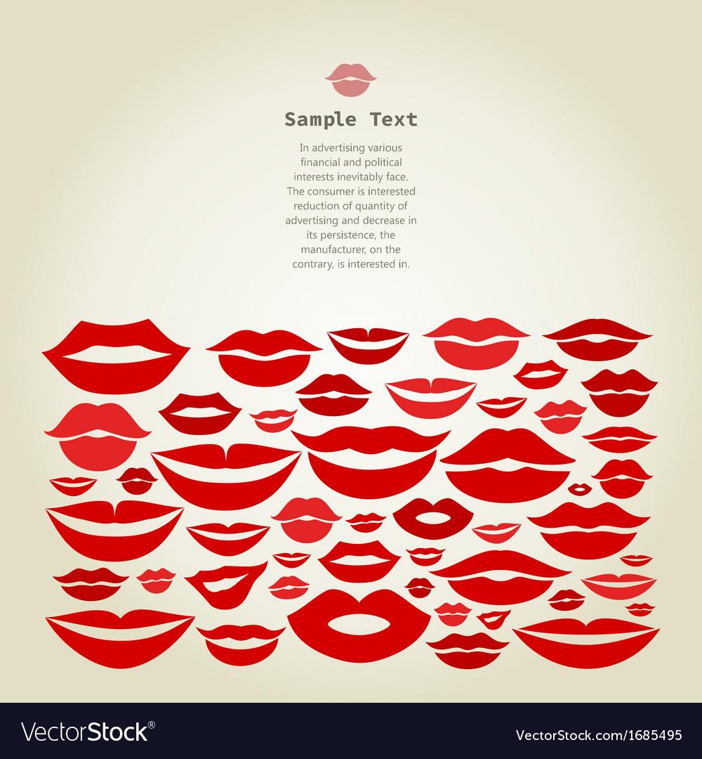Lips8 vector   Price: 1 Credit (USD $1)