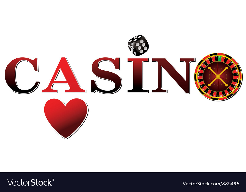 Casino logo vector | Price: 1 Credit (USD $1)
