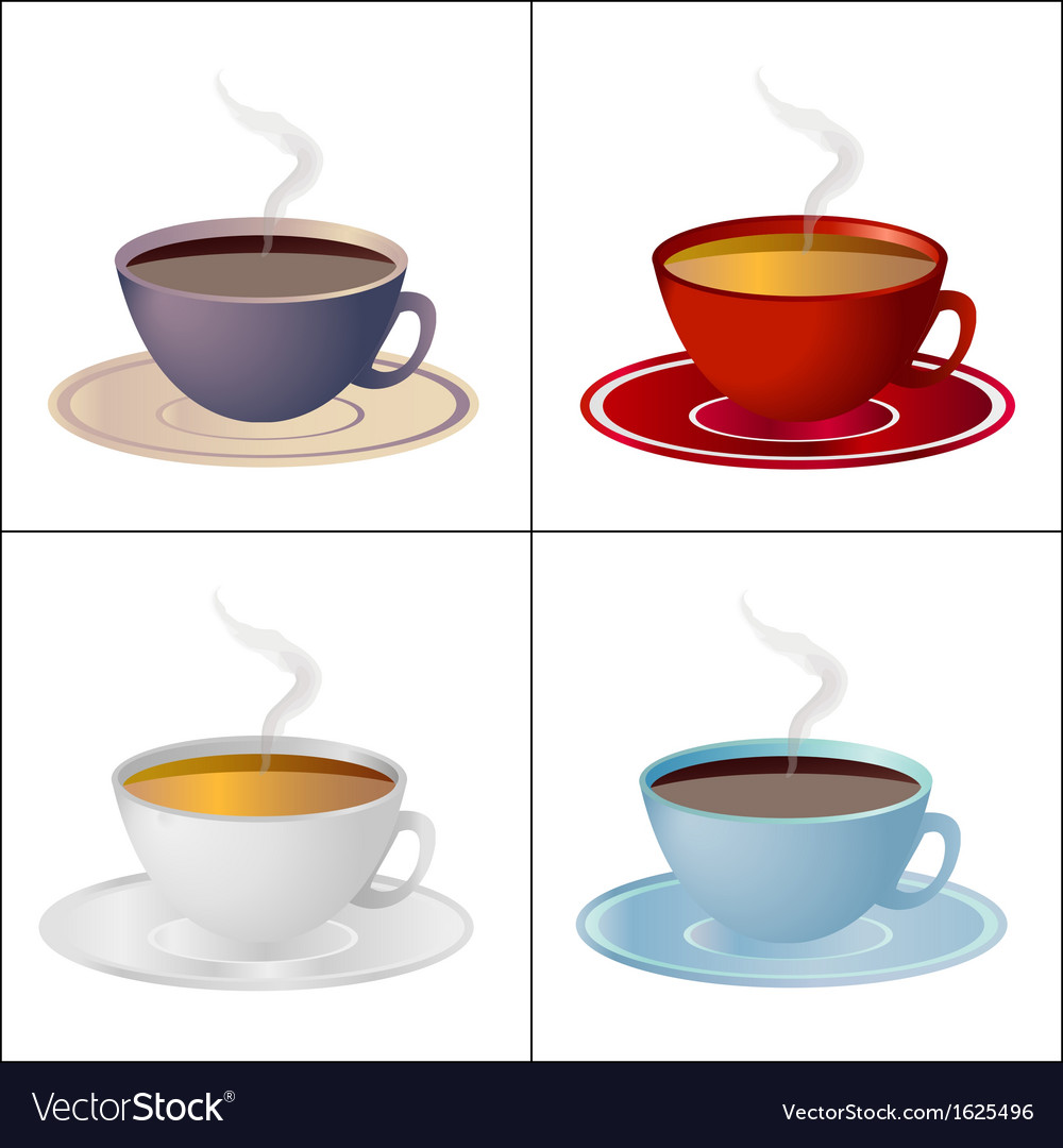 Set of cups vector | Price: 1 Credit (USD $1)