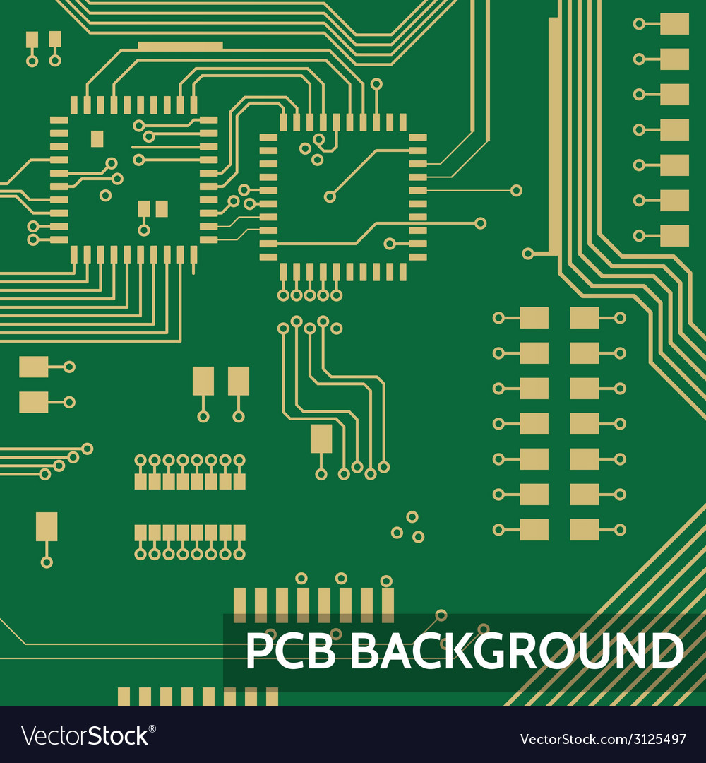 Pcb background vector | Price: 1 Credit (USD $1)