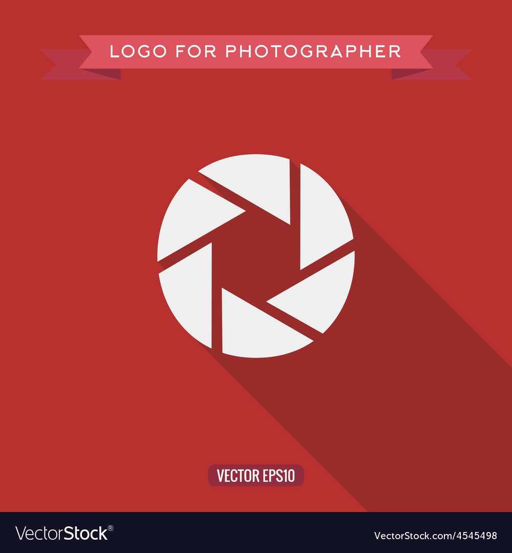 Abstract logo icon photo lens for the photographer vector   Price: 1 Credit (USD $1)