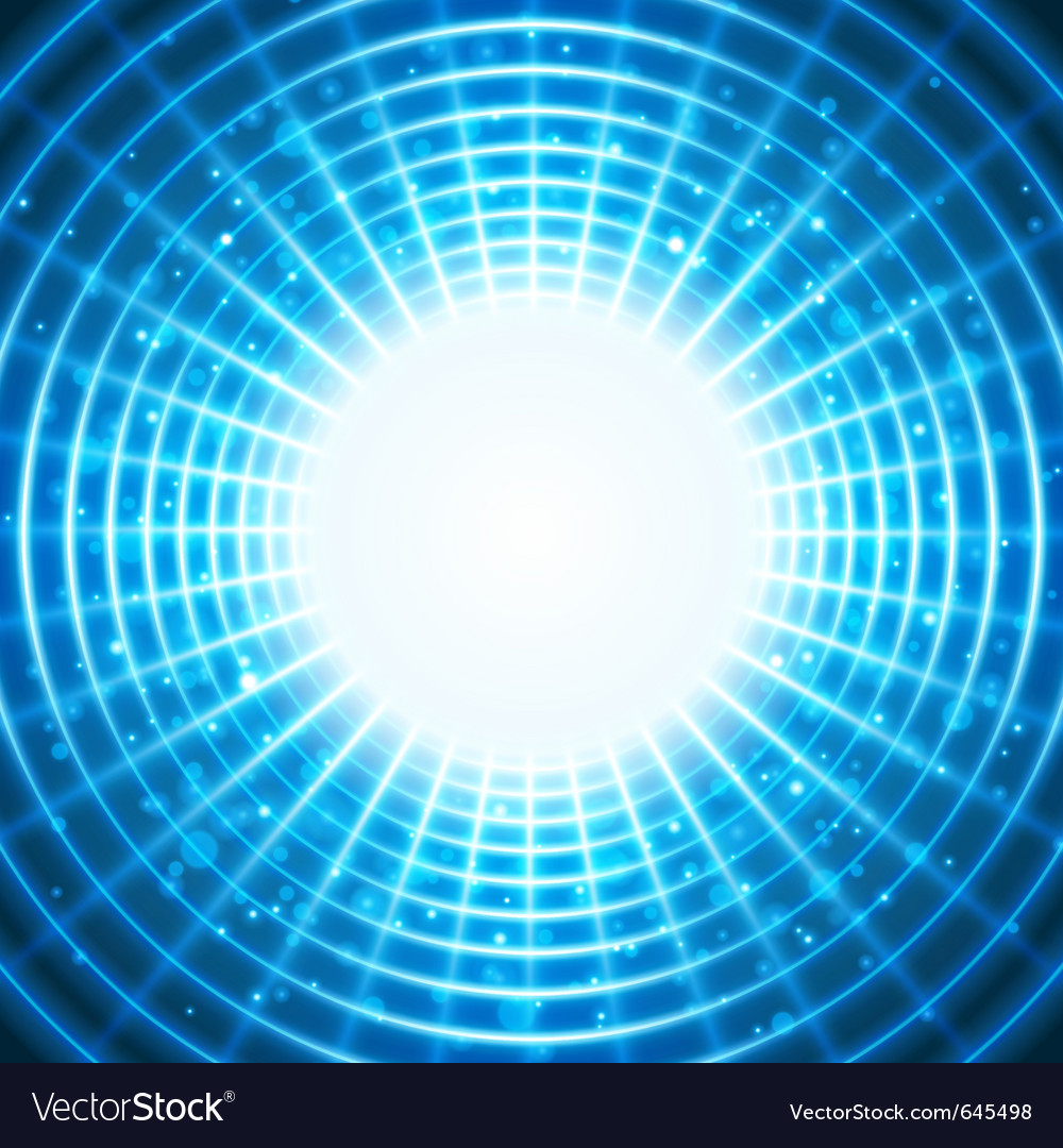 Virtual space with light wire lines vector | Price: 1 Credit (USD $1)