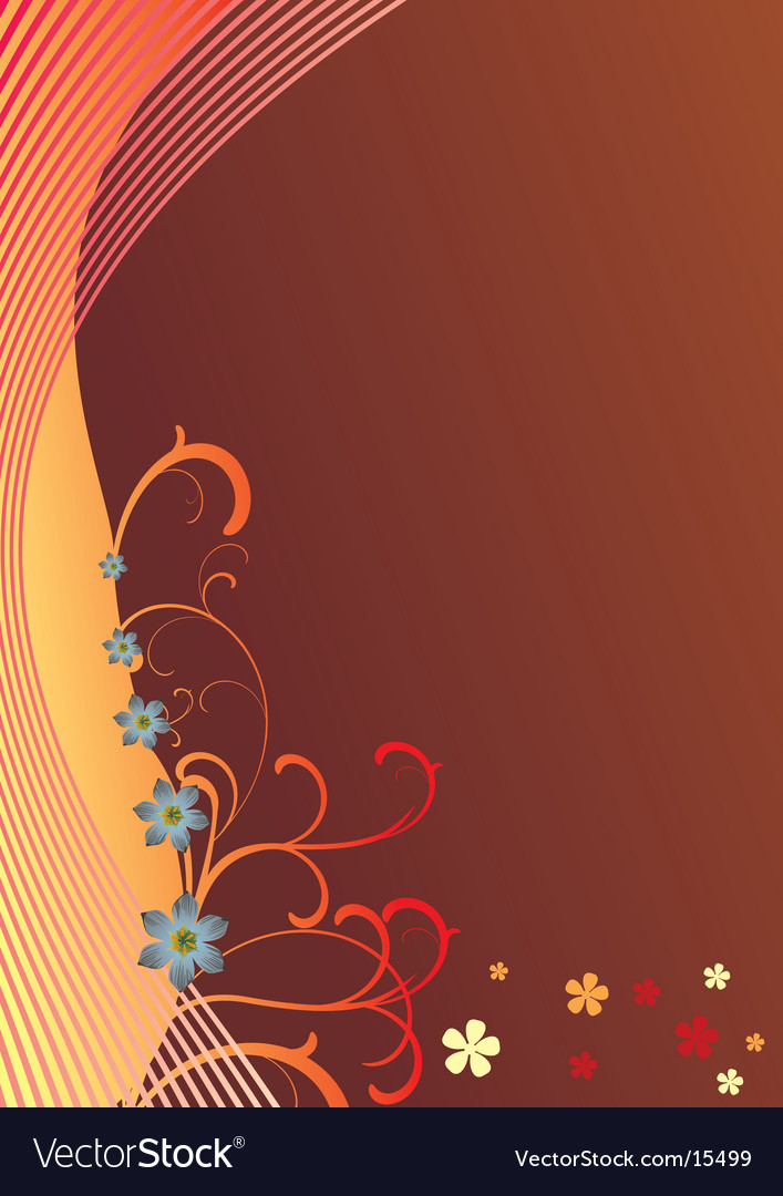 Background and abstract floral vector | Price: 1 Credit (USD $1)