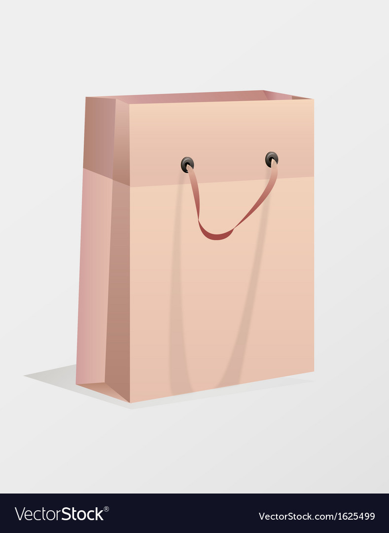 Brown bag vector | Price: 1 Credit (USD $1)