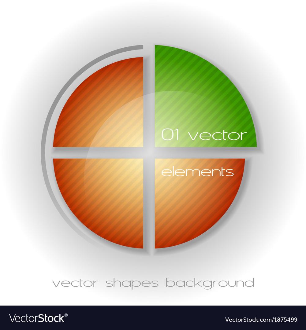 Business circle light ii vector | Price: 1 Credit (USD $1)