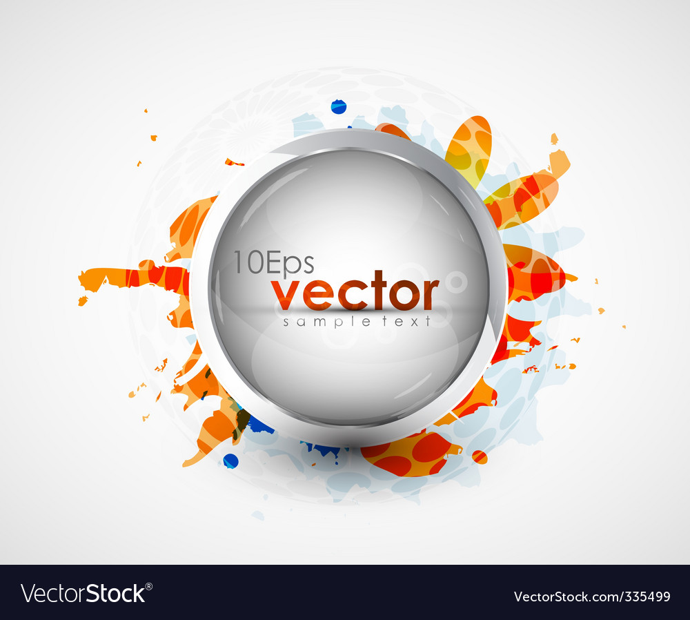 Modern icon background vector | Price: 1 Credit (USD $1)