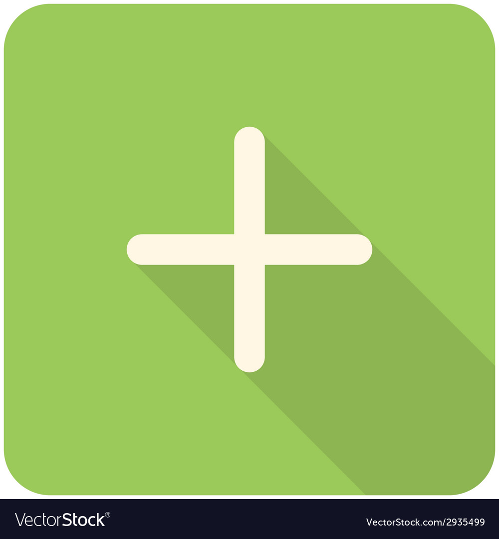 Plus icon vector | Price: 1 Credit (USD $1)
