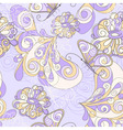 Seamless pattern butterflies vector