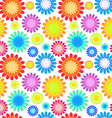 Abstract colorful floral seamless pattern vector