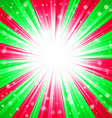 Christmas texture with shining snowflakes and rays vector