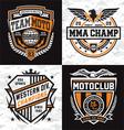 Athletic emblem graphics vector