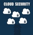 Cloud security vector