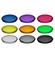 Colourful buttons vector