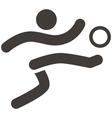 Football icon vector