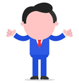 Businessman gesturing vector