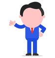 Businessman gesturing vector