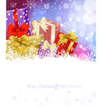 New years eve christmas background vector
