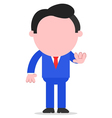 Businessman gesturing stop vector