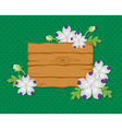 Board whit background vector