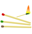 Set of matches vector