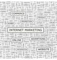 Internet marketing vector
