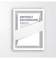 3d frame design for image vector